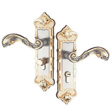 Aluminum Door Handle Sets Lever LATCH LOCK BEDROOM BATHROOMPRIVACY PACKS #6