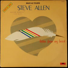 *** MAXI 45T / STEVE ALLEN - LETTER FROM MY HEART * POLYDOR/PRESSAGE FRANCE ***