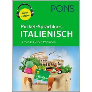 NEU: PONS Pocket-Sprachkurs ITALIENISCH lernen für Anfänger in kleinen Portionen