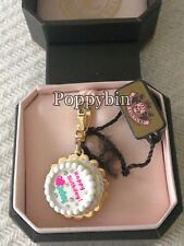 BRAND NEW! JUICY COUTURE BIRTHDAY CAKE BRACELET CHARM IN TAGGED BOX