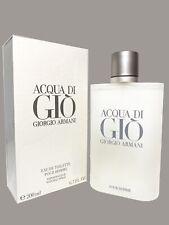Acqua Di Gio 6.7oz /200ml eau De Toilette .By Giorgio Armani New sealed Box.