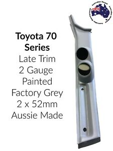 """to suit Toyota Landcruiser Late 79 Series DOUBLE PILLAR POD """"NEW"""" PAINTED GREY"""