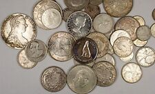 Assorted 800 Fine Silver World Coins Mostly Canada One Pound of Bulk