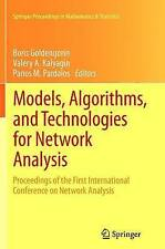 Models, Algorithms, and Technologies for Network Analysis: Proceedings of the Fi