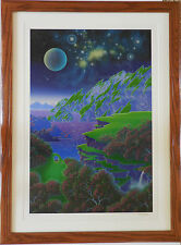 "Jon Rattenbury ""Night Light"" Framed Limited Edition Serigraph Hand Signed COA"