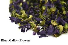 Blue Mallow Dried Flowers Tea Infusion Cake Decor Cooking Gin Coctail Garnish
