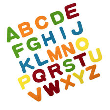 26X Felt Alphabet Letters For Sewing Cloth Felts Craft Fabric For Scrapbook HWF