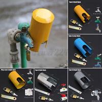 Tap Lock Outdoor Garden Padlock Protective Cover AntiTheft Lockable Water Savin