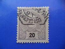 PORTUGAL STAMP - 1895/96 KING CARLOS I (NEW DRAW / NOVO DESENHO) - 20 REIS