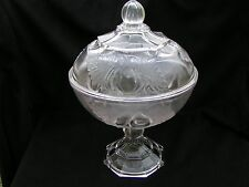 Baltimore Pear Covered Compote Adams and Co EAPG