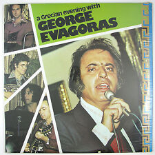 GEORGE EVAGORAS A Grecian Evening With LP 1973 GRECIAN DANCE FOLK MUSIC (SEALED)