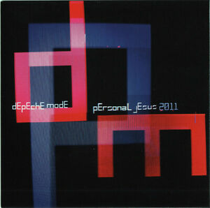 DEPECHE MODE PERSONAL JESUS 2011 RARE 5 REMIXES CD single CARD SLEEVE