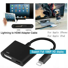 Lightning To HDMI Cable Digital AV TV Adapter For iPad iPhone 11 Pro Xs 7 8 Plus