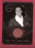 ELVIS PRESLEY WORN KIMONO SWATCH RELIC PIECE CARD KING ROCK N ROLL 08 PRESS PASS