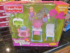 Loving Family Everything For Baby Deluxe Decor Dream Dollhouse NEW stroller high