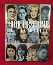 Their First Time in the Movies by Les Krantz (2001, Hardcover)