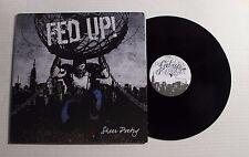 FED UP! Sheer Poetry LP Welfare Rec. WEL-037 US 2010 VG++ RARE HARDCORE 00D