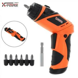 4 x 5AA Mini Electric Screwdriver for Furniture Installation / Screwing/Punching