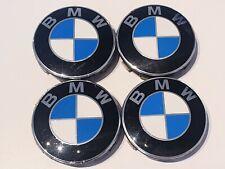 4 x BMW Radnabendeckel Nabenkappen Felgendeckel 1er 2er  3er 4er 5er X 68 mm