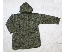 Canadian Canada Army CADPAT Digital Woodland Camo Jacket Hood Parka w/ Liner