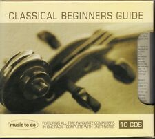 D4 Classical Beginners Guide : Composers in 1 Pack, Complete Liner Notes - 10 CD