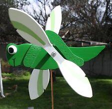 Grasshopper Whirligig / Grass Hopper Whirlygig / Whirlybird / Gig / Garden Stake