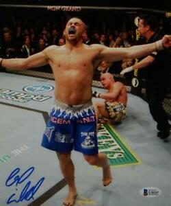 Chuck Liddell Autographed UFC 8x10 Photo In RIng- Beckett Auth *Blue