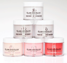 Glam and Glits Acrylic Powder COLOR BLEND OMBRECollection 2oz  Full Set 48 pcs