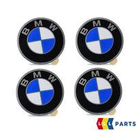 NEW GENUINE BMW E21 E30 WHEEL CENTRE HUB CAP DECAL EMBLEM STICKER D45 SET OF 4