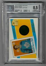 01-02 Topps Archives Darryl Sittler Maple Leaf Gardens Seat Relic BGS 8.5 NM-MT+