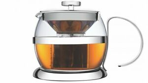 700ml Tea Maker Stainless Steel Leaf and Bag Teapot Infuse Filter - Tramontina