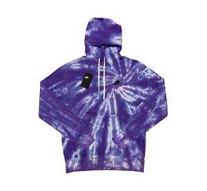 """Nike Sportswear """"Lavender Purple"""" Spiral Tie Dye Hoodie by Fye Island"""