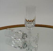 Sektflöte Sektglas Champagnerglas Kristallglas geschliffen 60/70er Jahre Design