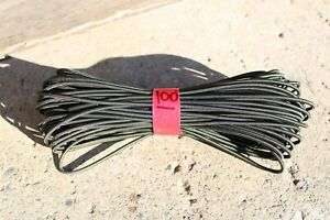 Zero Gravity Chair Replacement Cord 4mm x 100' Olive Drab Lawn Chair Bungee Rope
