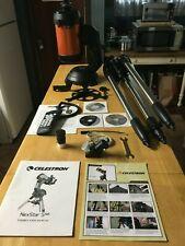 New listing Celestron NexStar 5Se 10 Telescope,&Eyepiece/F ilter Accessory Kit, & car adapter