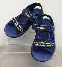 Boys Clarks Doodles Blue Sandals, Size 7.5 Infant