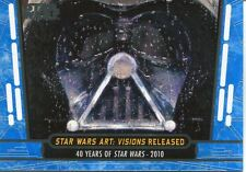 Star Wars 40th Anniversary Blue Base Card #94 Star Wars Art: Visions Released