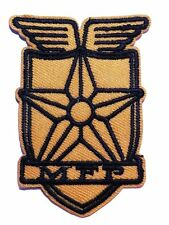 """Mad Max Movie Main Force Patrol 2 3/4"""" Tall Embroidered Logo Patch"""