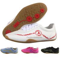 Tai Chi Martial Arts Wushu Kung Fu Wing Chun Breathable Canvas Shoes Footwear