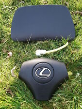 03*02*01 Lexus RX300 main Airbags driver & passenger RX-300 2001*2002*2003 BLACK