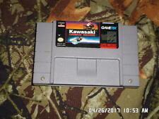 Kawasaki Caribbean Challenge (Super Nintendo) SNES Game