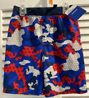 Way To Celebrate Kids  Stretch CamouflagePatriotic Pull On Shorts Size 4T. NWT
