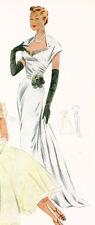 Female Wedding Vintage Dress Sewing Patterns