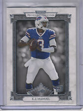 2013 Topps Museum Collection #87 EJ Manuel RC Rookie Bills