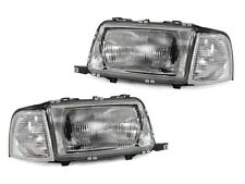 1991-1996 Audi 80 / 90 B4 2D  Euro E Code Glass Headlight Set + Corner Light Set