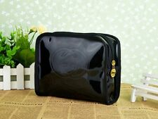 Authentic Gucci Guilty Black Vinyl Cosmetic Make-Up Pouch Clutch Bag USA SELLER