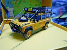 LAND ROVER Defender 110 4x4 Camel Trophy Edition 1986 Almost Real Diecast 1:43
