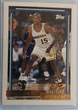 Latrell Sprewell / Alonzo Mourning 1992-93 Topps ROOKIE CARD - Gold