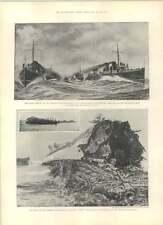 1901 Turbine Torpedo Boat Viper Destroyer Wrecked Alderney
