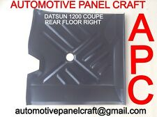 DATSUN 1200 COUPE/SEDAN REAR FLOOR RIGHT SIDE rust repair panel/part/fender